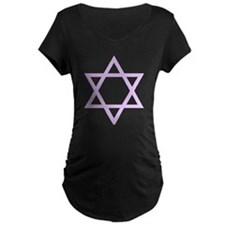 Lavender Star of David T-Shirt