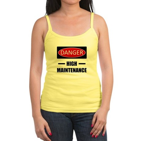 Danger: High Maintenance Jr. Spaghetti Tank