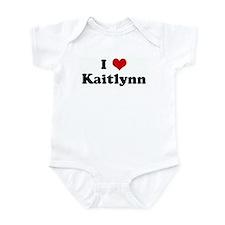 I Love Kaitlynn Infant Bodysuit