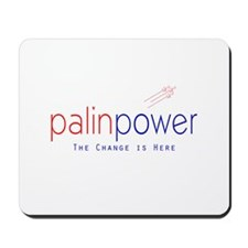 Palin Power Mousepad