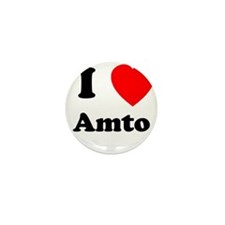 I heart Amto Mini Button (10 pack)