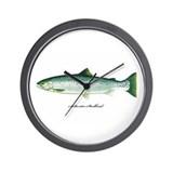 Wild Saltwater Steelhead Fish Wall Clock