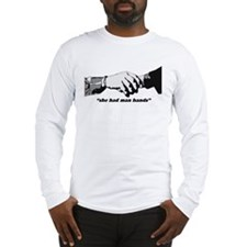 Man Hands Long Sleeve T-Shirt