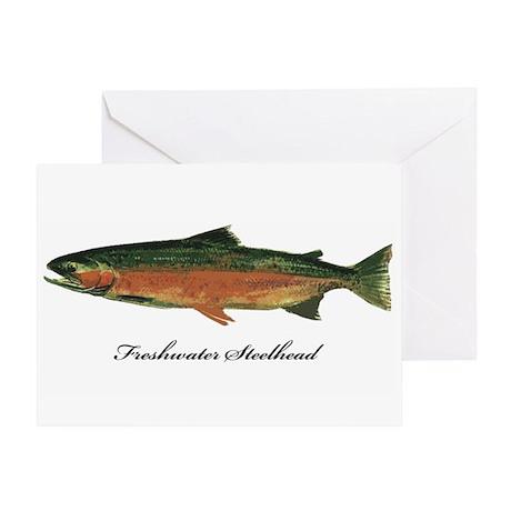 Freshwater Steelhead Trout Greeting Card