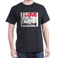 I Love Abalone T-Shirt