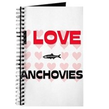 I Love Anchovies Journal