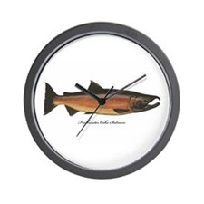 Coho Silver Salmon Wall Clock