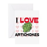 I Love Apricots Greeting Card