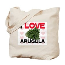 I Love Arugula Tote Bag