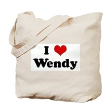 I Love Wendy Tote Bag