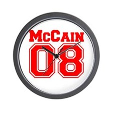 McCain 08 Wall Clock