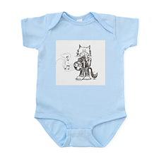 French Horn Cat Infant Bodysuit