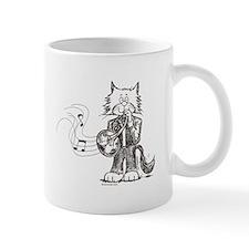 CatoonsT French Horn Cat Mug