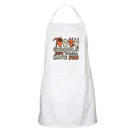 Ghouls Just Wanna Have Fun BBQ Apron