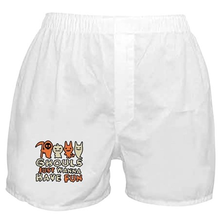 Ghouls Just Wanna Have Fun Boxer Shorts