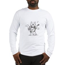 CatoonsT Banjo Cat Long Sleeve T-Shirt