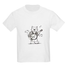 CatoonsT Banjo Cat T-Shirt