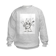 CatoonsT Banjo Cat Sweatshirt