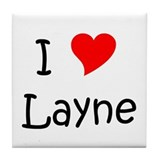 Cool Layne Tile Coaster