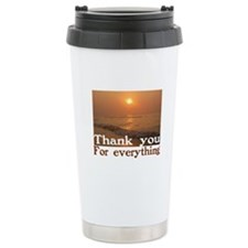 Thank You Ceramic Travel Mug