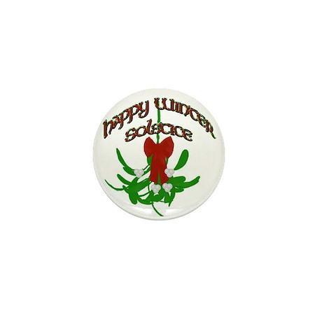 Mistletoe Mini Button (100 pack)