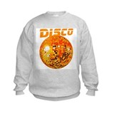 Orange Disco Ball Sweatshirt