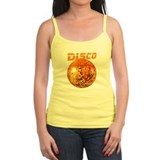 Orange Disco Ball Tank Top