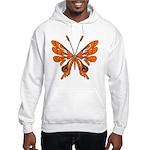 Butterfly Tattoo Hooded Sweatshirt