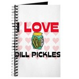 I Love Dill Pickles Journal