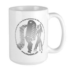 KeysDAN Logo (Brushed Metal) Mug