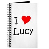 Unique I love (heart) lucy Journal