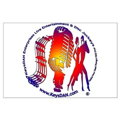 KeysDAN Logo (Color Target) Posters