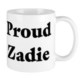 Proud Zadie Small Mugs
