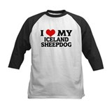 I Love My Iceland Sheepdog Tee