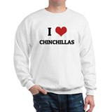 I Love Chinchillas Sweatshirt