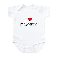 Cute Magdalena Infant Bodysuit