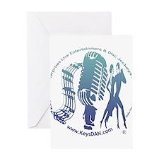KeysDAN Logo (Waves) Greeting Card