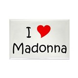 Cute I love heart madonna Rectangle Magnet (10 pack)