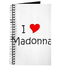 Funny Madonna Journal