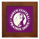 North Central Prairie Dogs Framed Tile