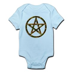 Camouflage Pentagram Infant Bodysuit
