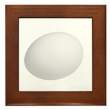 An Egg On Your Framed Tile