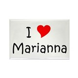 Marianna Rectangle Magnet (10 pack)