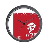 Panta rei Wall Clock
