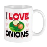 I Love Onions Mug