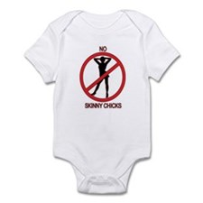 No Skinny Chicks Infant Bodysuit