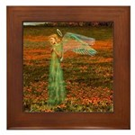 Angel #119 : Framed Tile