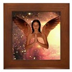 Angel #185 : Framed Tile