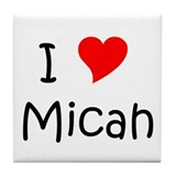 Unique Micah Tile Coaster