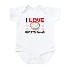 I Love Potato Salad Infant Bodysuit